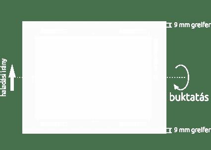 Pannónia Nyomda Kft. - Nyomtatható felület buktatással