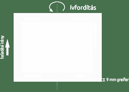 Pannónia Nyomda Kft. - Nyomtatható felület ívfordítással