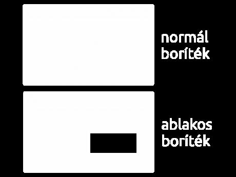 Pannónia Nyomda Kft. - Ablakos boríték